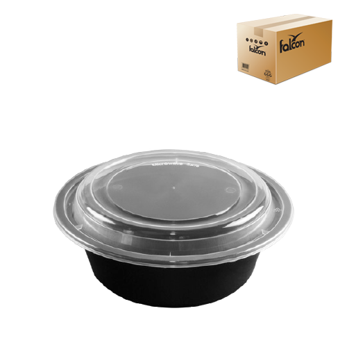 Round Microwave Container 32 Oz W Lid 1 Carton X 150 Pieces